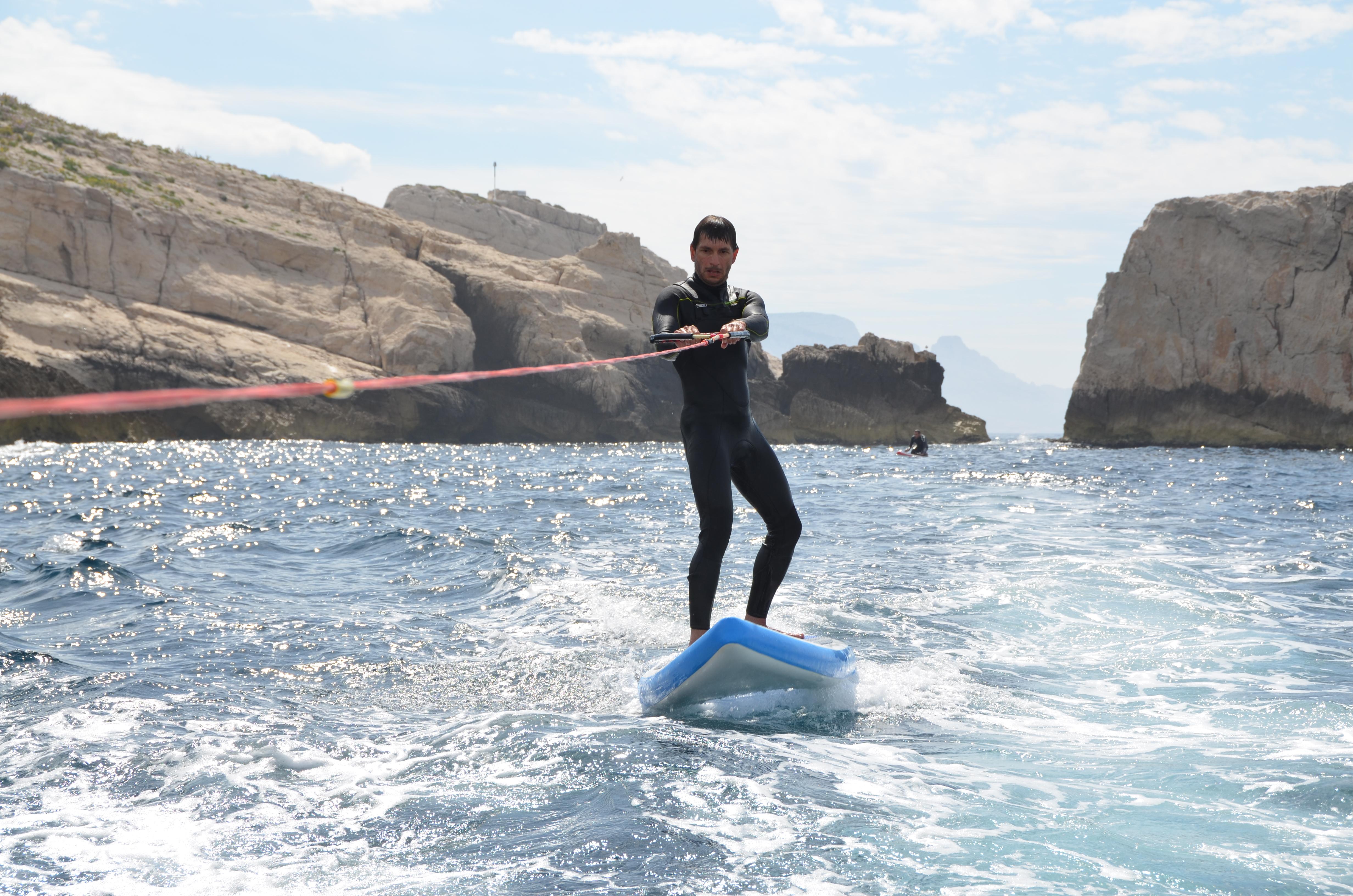 Avec le mat on peut aussi utiliser le paddle !